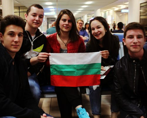 BulgarianStudentsairport