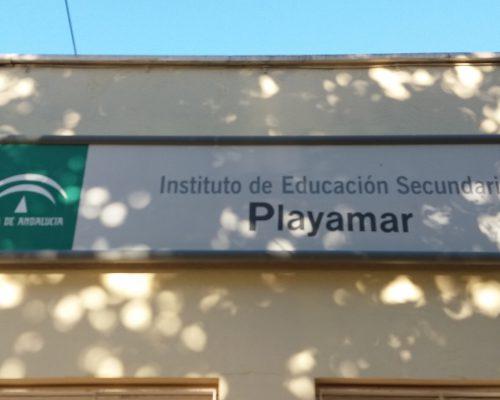 IESPlayamar Sign
