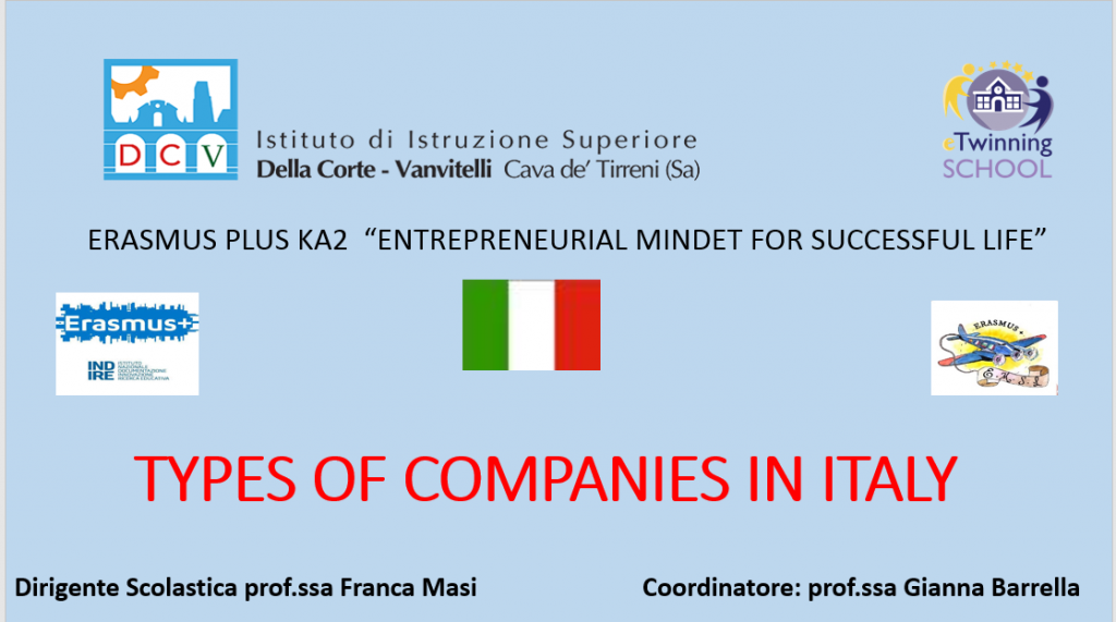 Types of companies in Italy1