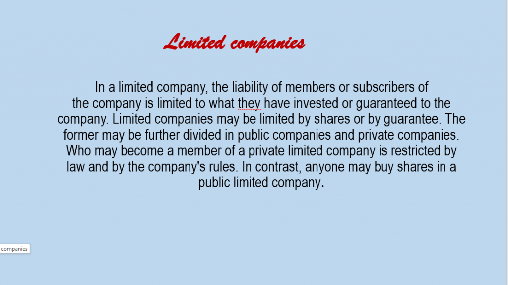 Types of companies in Italy9